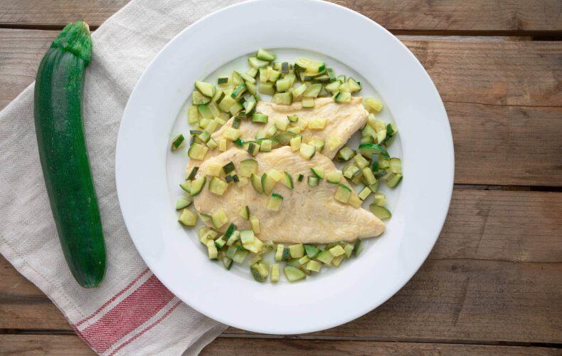 Ricetta Petto Pollo Alle Zucchine 5