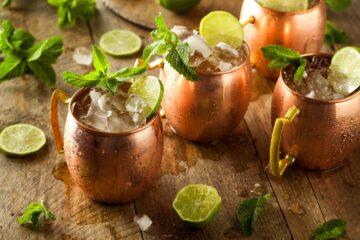 Ricetta Gin Gin Mule Originale