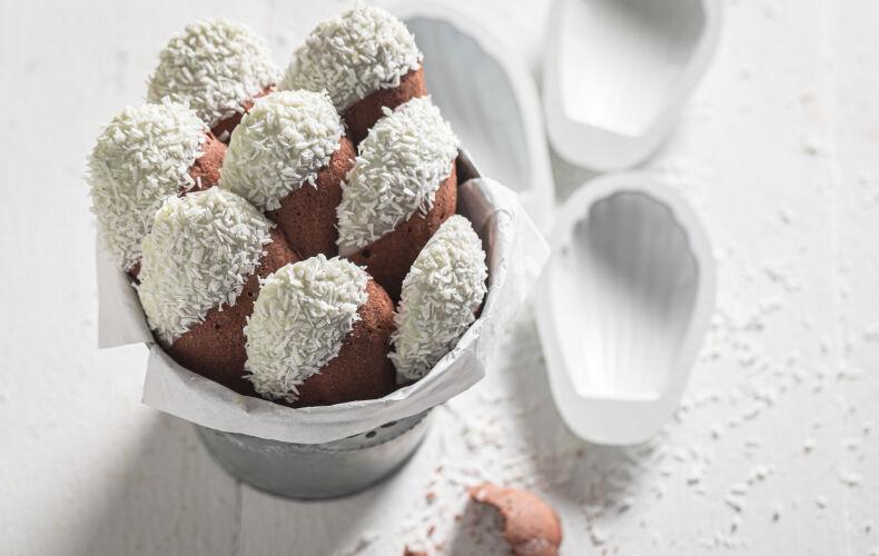 Ricetta Madeleine Cioccolato Cocco