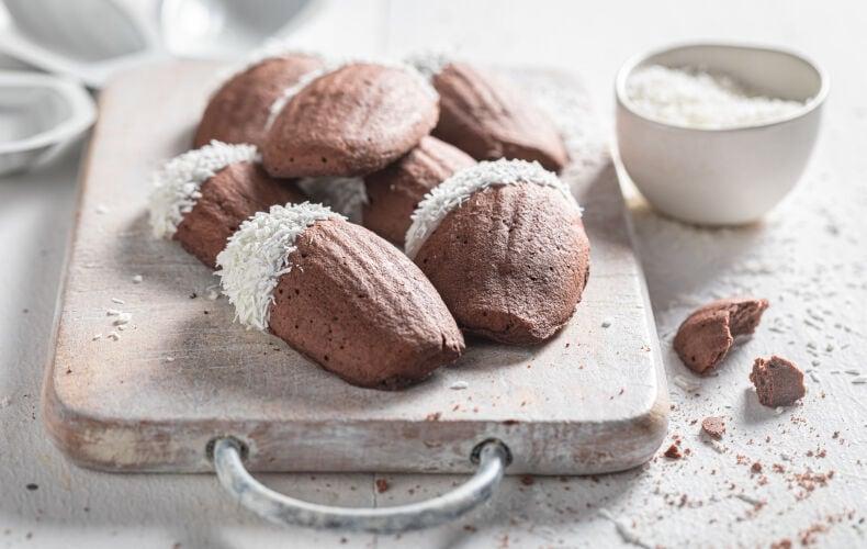 Ricetta Madeleine Cioccolato E Cocco