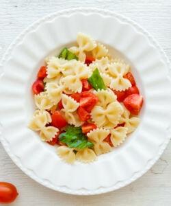 Ricetta Pasta Estiva Pomodorini E Basilico