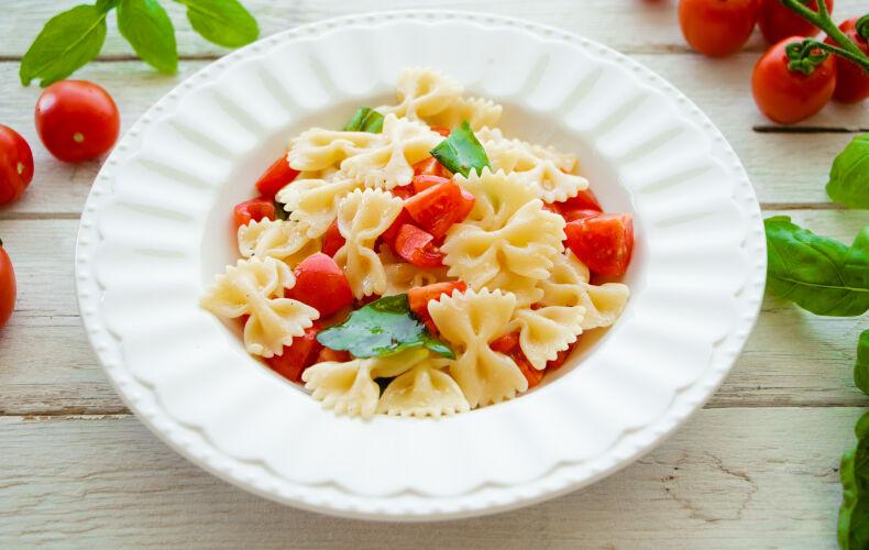Ricetta Pasta Estiva Pomodorini E Basilico 8