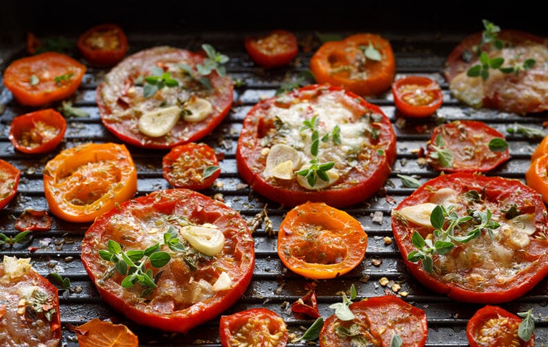 Ricetta Pomodori Grigliati Alla Piastra Con Formaggio