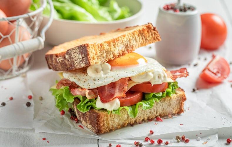 Ricetta Sandwich Colazione Del Contadino