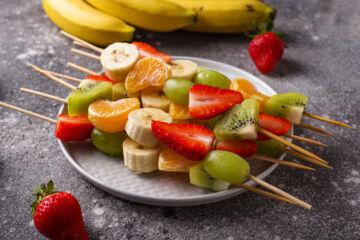 Ricetta Spiedini Di Frutta