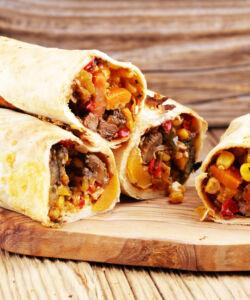 Ricetta Burrito Di Carne
