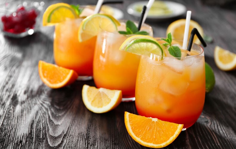 Ricetta Tequila Sunrise