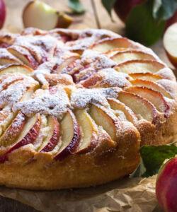 Ricetta Torta Di Mele Con Farina Di Kamut