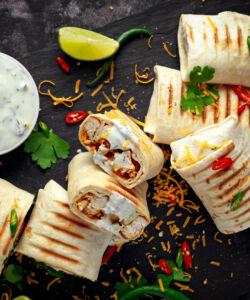 Ricetta Burrito Di Pollo