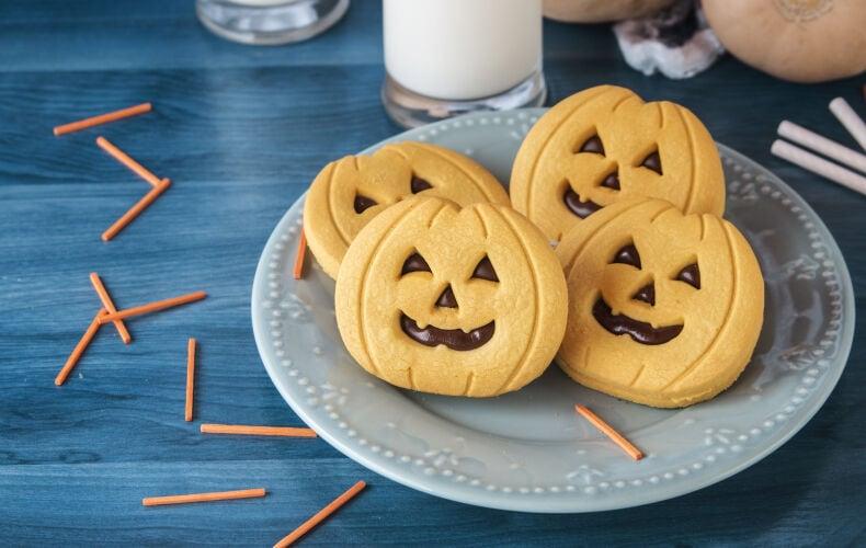 Ricetta Biscotti Di Halloween Alla Nutella
