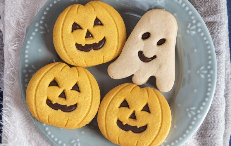 Ricetta Biscotti Zucca Di Halloween Alla Nutella