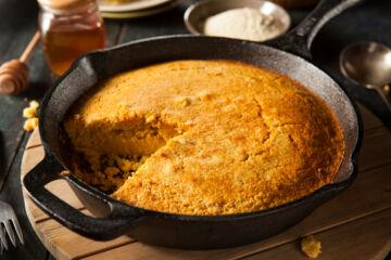 Ricetta Cornbread Pane Di Mais