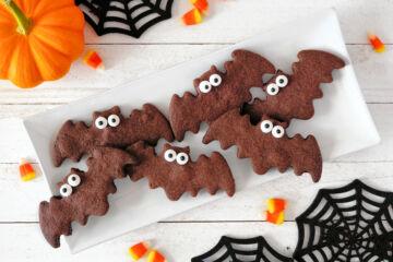 Ricetta Biscotti Pipistrello Di Halloween