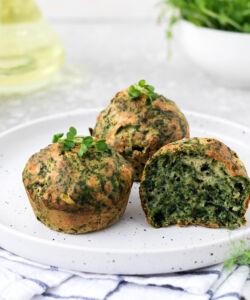 Ricetta Muffin Salati Agli Spinaci