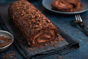 Ricetta Rotolo Al Cioccolato Con Crema Al Caffe